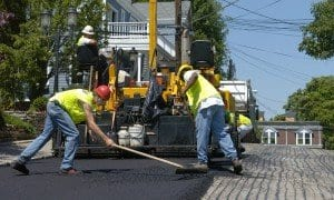 Recycled tire rubber can be added to subinsulation for road pavement.