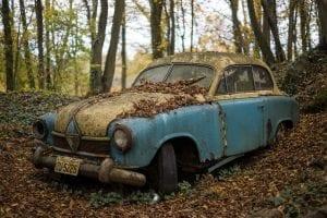 salvage title junk car