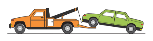 cash for cars tow truck