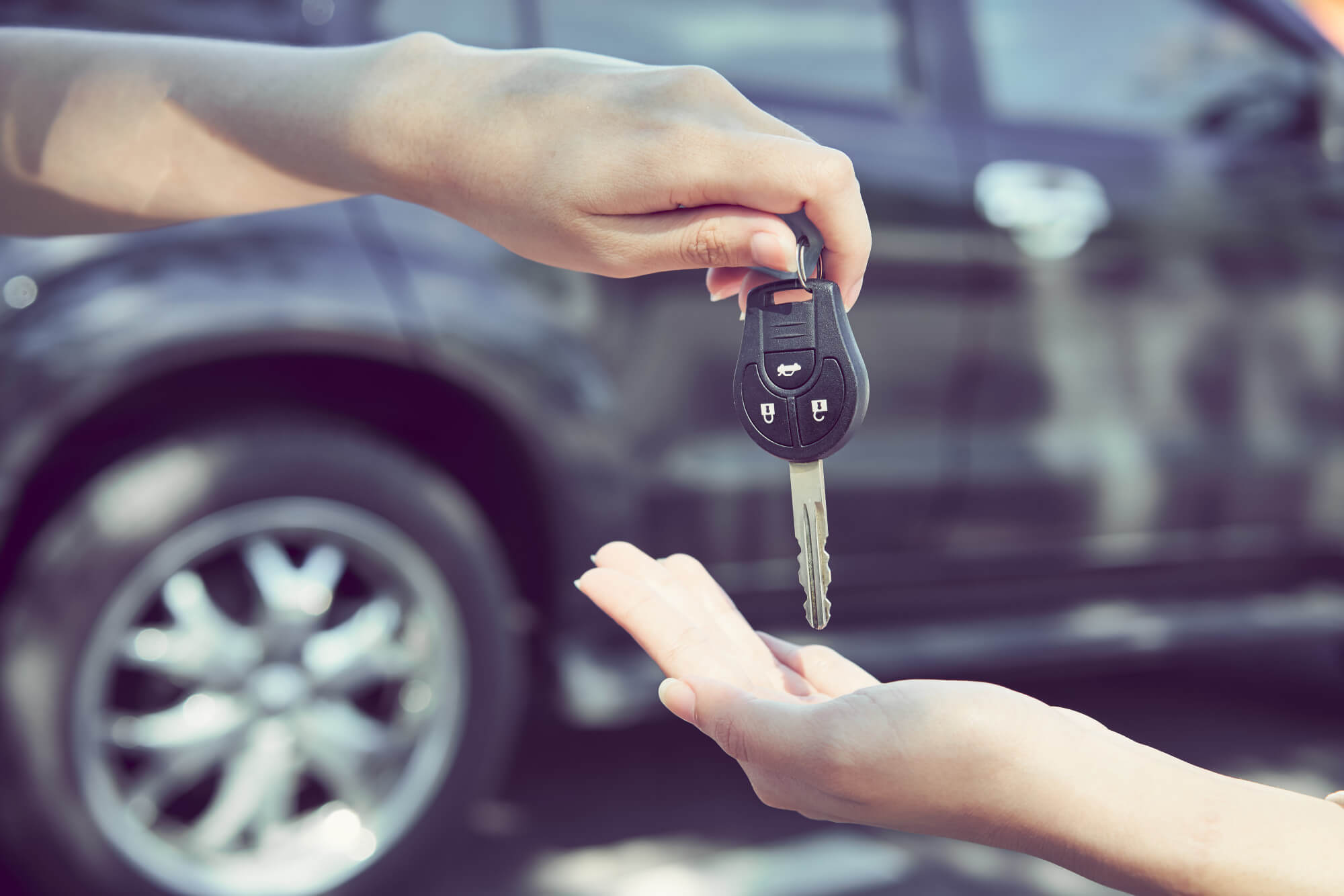 what to do when selling a car